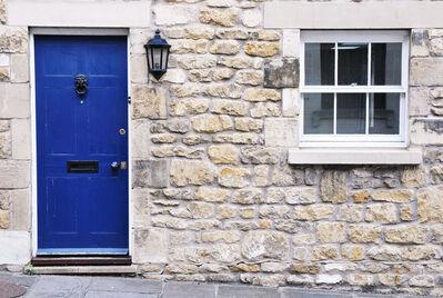 Reeds Rains blue door