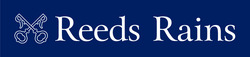 Reeds Rains Logo - Horizontal Blue