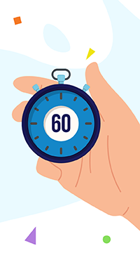 Check in 60 seconds whether you're eligible